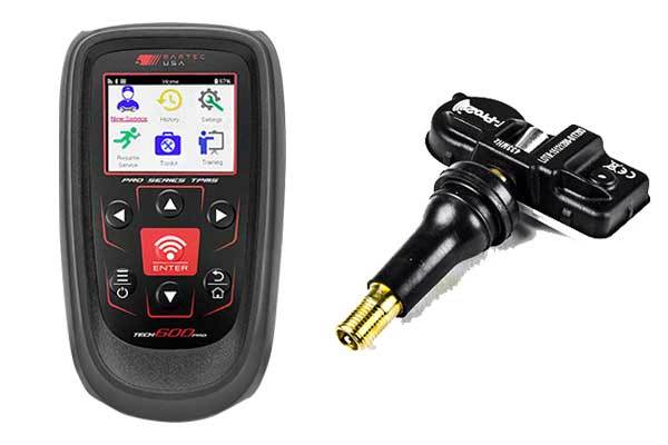 Components of the Direct Chrysler TPMS System